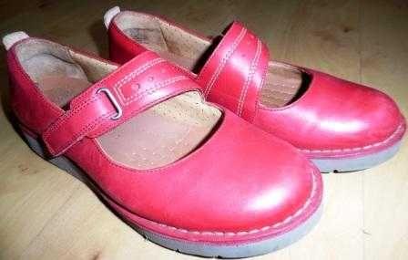 CLARKS komfortowe buty damskie skóra rozm. 38