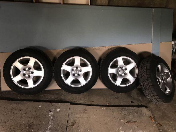 Диски на зимній резині Audi, Skoda, Volkswagen 5х112, 195/65R15