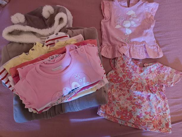Zestaw ubranek dla dziewczynki 62/68 Newbie Zara Name It