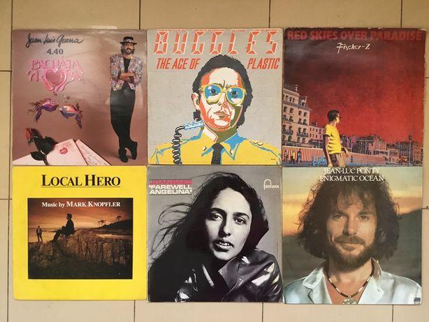 Discos de vinil Joan Baez, Jean Luc Ponty,Buggles, Juan Luis Guerra