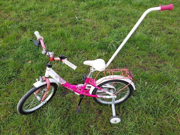 Rower Romet Julita 16' biało-różowy