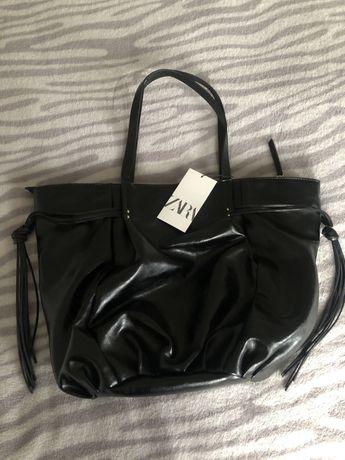 Nowa torebka Zara duża kolor czarny