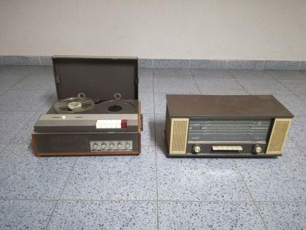 2 Rádios Philips antigos