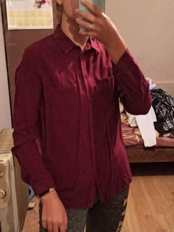 Бордова сорочка жіноча