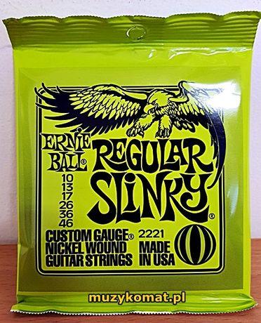 STRUNY do gitary elektrycznej ERNIE BALL 10-46