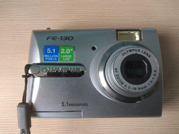 sprzedam aparat olympus fe 130 stan idealny cyfrowy etui
