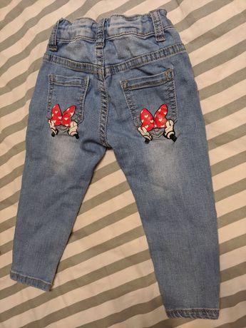 Дитячі джинси з міккі