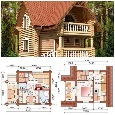 Domy , dom z bala , z bali , z drewna ,szkieletowych , Domek ,Budowa