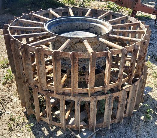 Rodas de pivot para não atascarem