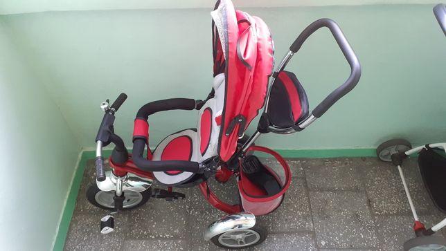 Rowerek rower 3 kołowy czerwony
