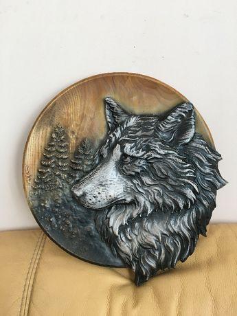 Вовк трофей подарунок Декор