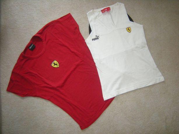 Ferrari PUMA bluzki damskie
