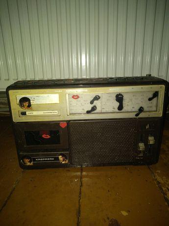 Radiomagnetofon KASPRZAK. Zabytkowy...
