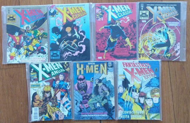 X-Men Abril/Controljornal - Miniserie e Edições especiais