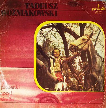 TADEUSZ WOŹNIAKOWSKI Piosenki spod siodła - album płyta LP vinyl 33