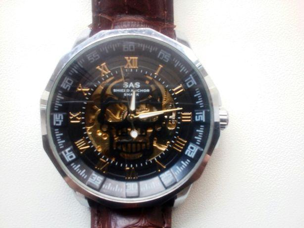 Продам наручные часы скелетон, фирмы sas механические.