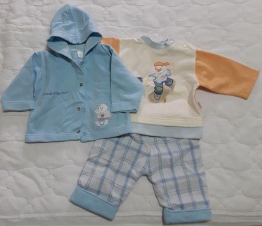 Conjunto de Calça e casaco azul 3 M