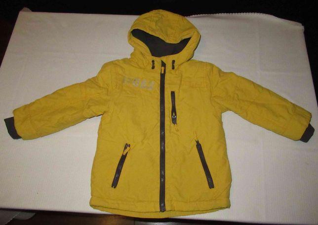 kurtka chłopięca ocieplana rozmiar 92-98
