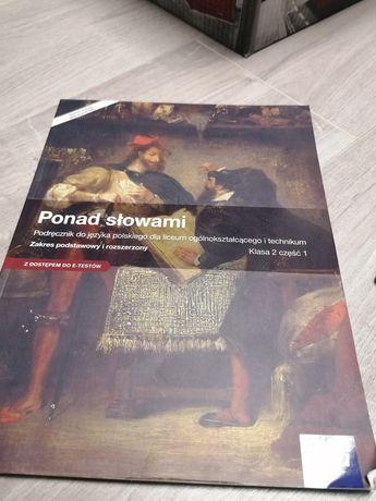 Ponad słowami Podręcznik do języka polskiego. Klasa 2 część 1