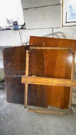 Стол раскладной полированый