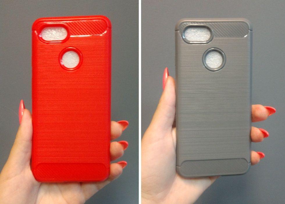 Чехол на Google Pixel 3 (красный и серый 2шт=100грн) Днепр - изображение 1