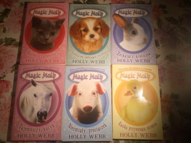 Magic Molly zestaw 6 książek Holly Webb