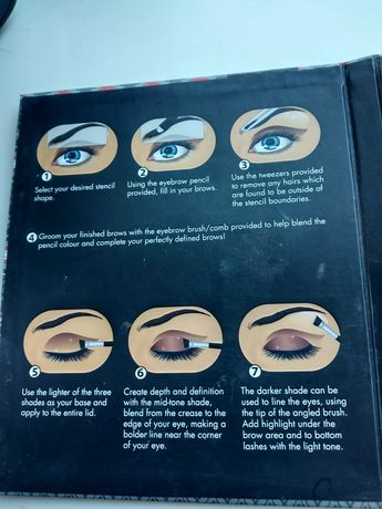 Тени для бровей и глаз гамбург by tchibo