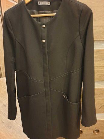 Płaszcz przejsciowy De facto r. 40 (L) raz ubrany!