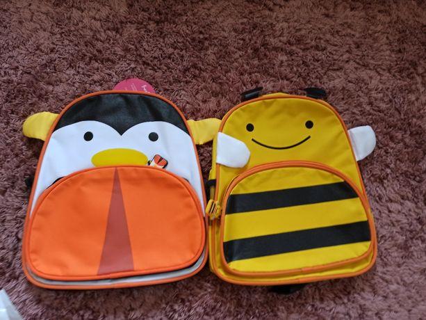 Рюкзак пингвин пчёлка двойне близнецам