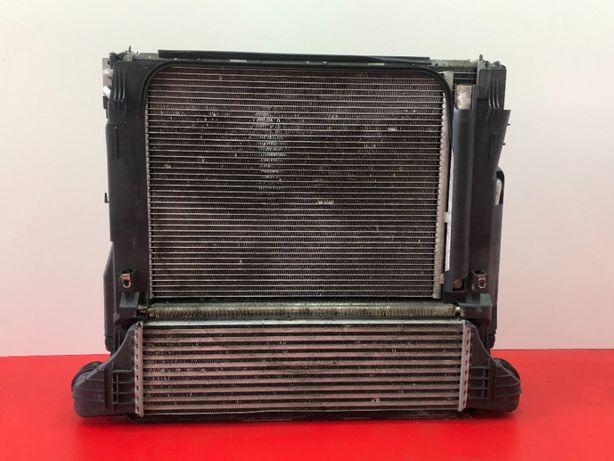 Радиатор интеркуллера BMW X5 E53 3.0d интеркулер БМВ Х5 Е53 радіатор