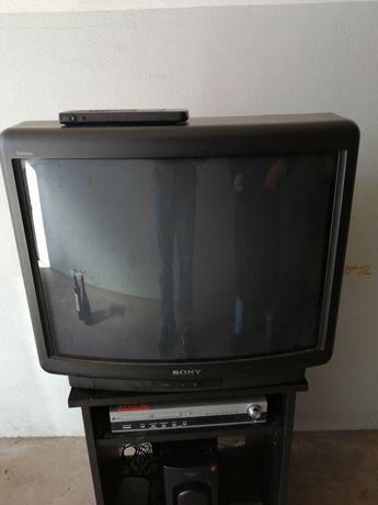TV Sony, DVd amplificador LG e colunas sony