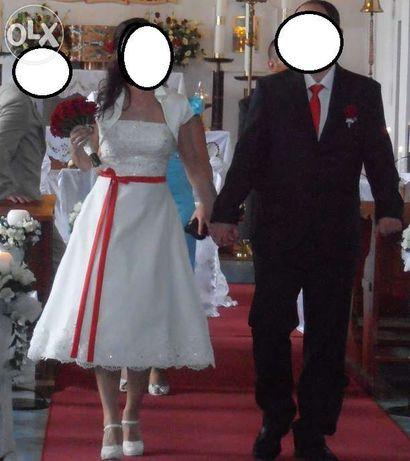 Suknia Ślubna ecru CORNELIA 36-38