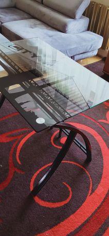 Biurko stół szklany