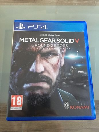 Metal Gear Solid 5 MGS5 Ps4