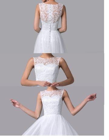 Suknia ślubna rozm. Xs/S wysyłka GRATIS