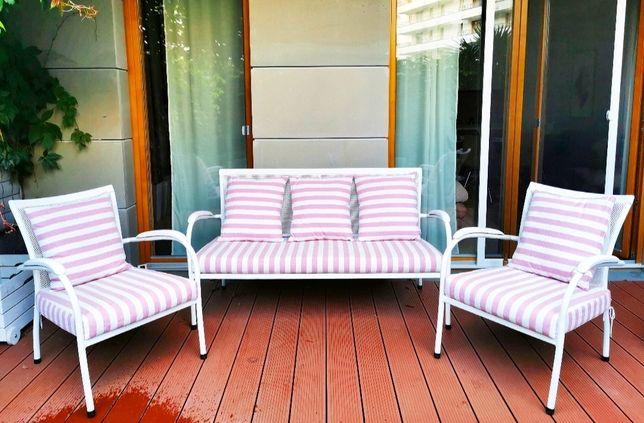 Komplet mebli ogrodowych meble ogrodowe tarasowe balkonowe zestaw