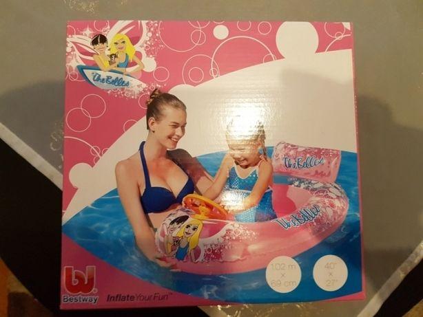 Łódka, ponton dla dziewczynki