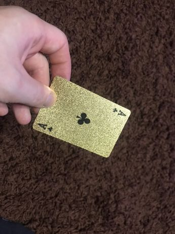 Золотая колода карт
