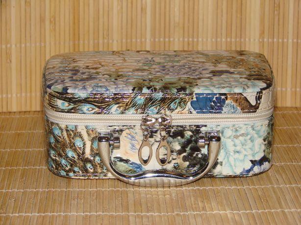 kuferek walizka z lusterkiem