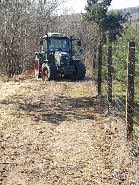 Usługi ogrodniczo- leśne,rolnicze.Transport,kosiarka bijakowa,mulczer