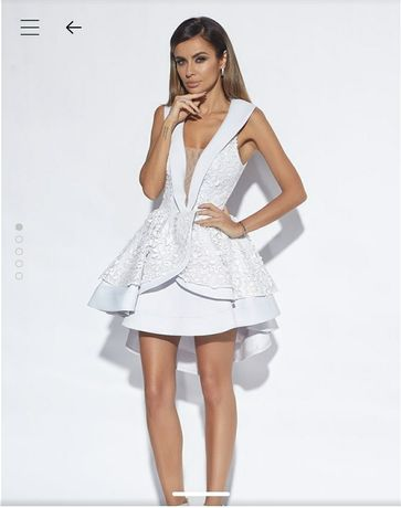 Lou Fame xs 34 koktailowa mini sukienka
