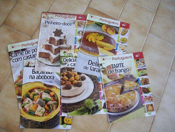 Coleção de livros de receitas