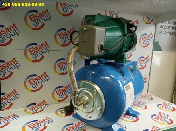 автоматична насосна станція для води 1,1 кВт 24л Польша