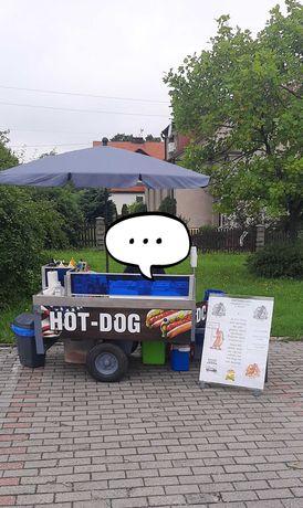 Przyczepa do hot dogów