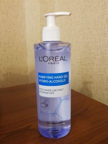 Продам LOreal санитайзер antiseptic гель для рук