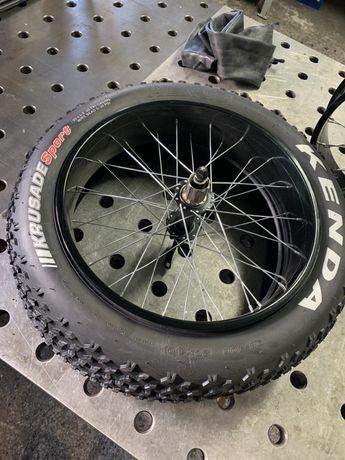 Fat Bike obręcze piasty opony dętki