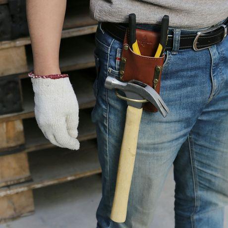 Suporte de martelo para cinto de ferramentas bricolage