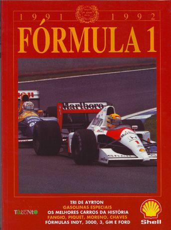 Anuário F1 - 1991/92 + 92/93 + 93/94 + 94/95