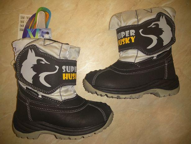 Термо ботинки,сапожки зимние,чобітки B&G 22,23,24,25,26,27,28,29