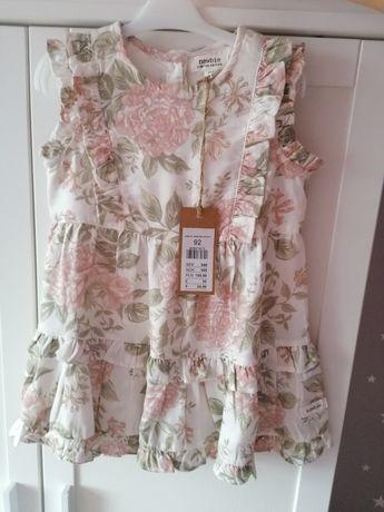 Newbie sukienka limited, kwiaty 92